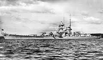Image of German battleship Gneisenau April 1941