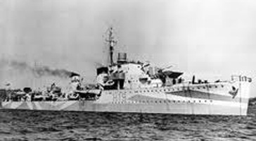 Image of American cruiser Houston March 1942